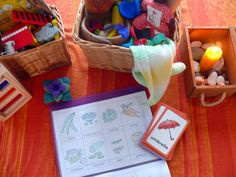 The Speech Therapy Basket & Bubbles