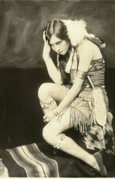Princess White Deer    Performed in the 1927 Ziegfeld 9O'Clock Frolic she also performed in the Ziegfeld Midnight Frolic of April 1921.    Born Esther Louise Georgette Deer of Chief James Deer and Georgette Osborne Deer (Iroquois Tribe, Mohawk - Akwesasne people of the St. Lawrence Seaway region) in 1891. She is now called the first Native American to gain fame as a dancer and vocalist.
