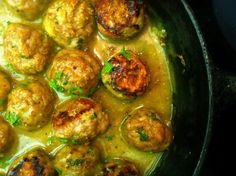 Chicken Cordon Bleu Meatballs from Skinnytaste. Brittany Rhodes made and send they were way good