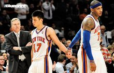 Sports: Carmelo Anthony Pushing Mike D'Antoni Out The Door