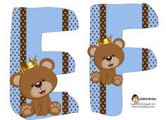 Alfabeto de osito príncipe. | Oh my Alfabetos!
