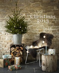 Simple, rustic Christmas