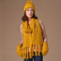 9d61417f32c 23 Awesome Best womens hat scarf and glove set for winter images ...