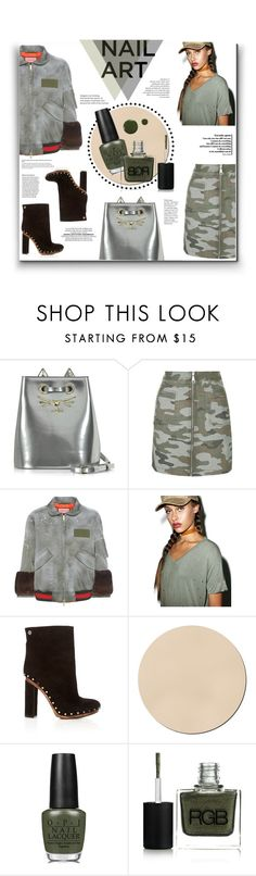 """""""05. Wintery Polished!"""" by milva-bg ❤ liked on Polyvore featuring beauty, Charlotte Olympia, Topshop, Gucci, Proenza Schouler, WALL, OPI, RGB and Zoya"""