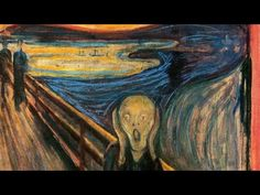 Edvard Munch brief biography and artwork. Great for kids and esl