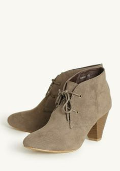 9524744e075  First Meeting Lace-up Ankle Boots at  Ruche  Mimi B. ヾ