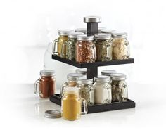 If your mom loves to cook, then this gift is a no-brainer. With the Mason Jar Spice Rack ($69.99), replenish her spice stock while giving her what she needs to store them efficiently. Plus, she can display it in a stylish rustic-chic way! You never know, this gift might just help spice up her kitchen.