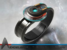 """A Star Trek inspired, sci-fi watch design submitted to the Tokyoflash Design Studio Blog by Peter from the UK.""""I have submitted a few analogue designs in the past and most were perhaps a little too imaginative. For this concept I decided to go back to basics and use a traditional disc style analogue time telling."""" #kisai #tokyoflash #analogwatch #watchdesign #scifiwatch #coolwatches #uniquewatches #interestingwatches #uniquewatch #watches"""