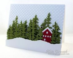 House In The Woods, Blog Candy Winner and Ellen Hutson Stamp Sale