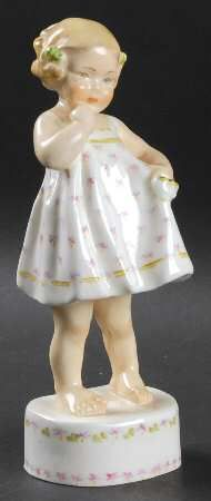 Only Me-Floral Dress - Royal Worcester Figurine at Replacements, Ltd