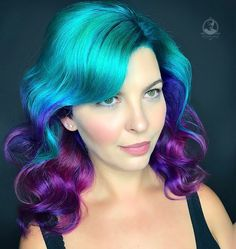 "8,788 Likes, 76 Comments - Rebecca Taylor (@rebeccataylorhair) on Instagram: ""Isn't she lovely?!  Vibrant color melt and extensions on @thewickedlady using custom mixed…"""