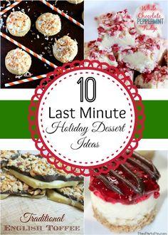 10 Last Minute Holiday Dessert Ideas   The Best Blog Recipes