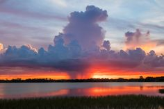 The only kind of mushroom cloud I ever want to see | Winter Haven Florida [OC][3000x2000]