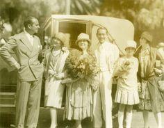 Mary Pickford and Family, Douglas Fairbanks