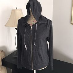 BNWOT Victoria Secret angel wing bling sweatshirt BNWOT Victoria's Secret angel wing bling light weight sweatshirt color charcoal. Never worn bought online and they don't include tags. Matching pants in closet ask for bundle for more savings! Or make an offer NO TRADES Victoria's Secret Tops Sweatshirts & Hoodies
