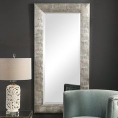 This contemporary piece has an animalistic behavior with its organic wavy texture, finished in a metallic silver. The mirror is beveled. Contemporary Wall Mirrors, Contemporary Decor, Dining Room Wall Decor, Bedroom Decor, Silver Wall Mirror, Fish Wall Decor, Accent Furniture, Engineered Wood, Metal Wall Art