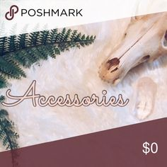 Jewelry, purses, etc. ✨ Accessories
