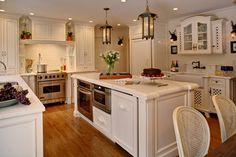 White French Country Kitchen Design Ideas, Pictures, Remodel, and Decor - page 16