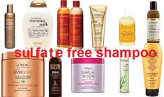 Sulfate Free Shampoo for African American Hair