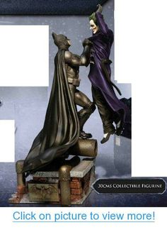 Batman: Arkham Origins UK Exclusive Collector's Edition Statue ONLY of Batman choking The Joker [No Game]