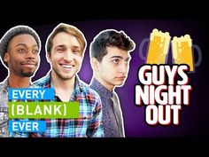 EVERY GUYS NIGHT OUT EVER Smosh, Night Out, Roommate, Guys, Girls Night, Memes, Cards, Girls Night In, Ladies Night