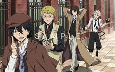 Bungou Stray Dogs official art