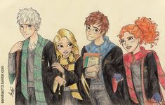 At Hogwarts<===this is wrong.  Hiccup is in Hufflepuffe(think i spelled that wrong) and Repunzel is in Ravenclaw!