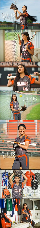 Softball theme senior pictures.    Fly Ball: Senior picture ideas for girls. Class of 2016 Senior Model Trisha Kunze in Pleasantville, IA #softballseniorpictureideas #softballseniorpictures #seniorsbyphotojeania