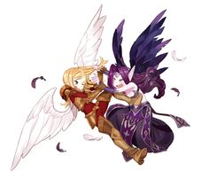 League of Legends - Kayle and Morgana