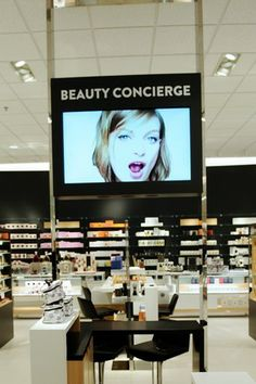 New Nordstrom Beauty section concept in California favors more opened service for color