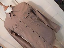 DSQUARED 2 casual  Shirt , Size 40 inch chest beige fitted