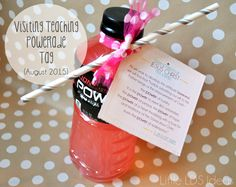 August 2015 Visiting Teaching Printable for Powerade