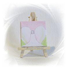 AprilZart+Neu+Kunst+Acrylbild+Schutzengel+Unikat++von+Kunstgalerie+Winkler+auf+DaWanda.com