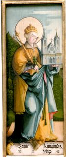 Saint Cunegund, wife of Henry II of Bavaria (also a saint)