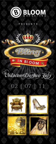 Bloom in Bling at Vodacom Durban July
