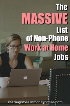 Do you want a work at home job that does NOT require you to…