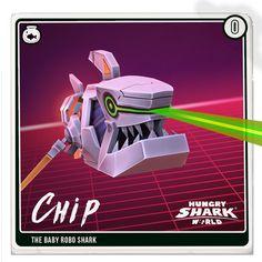 Chip is little but he bites hard! Underwater Creatures, Ocean Creatures, Monster Shark, Shark Games, Animal Games, Shark Week, Atlantis, Animal Pictures, Evolution