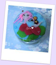 Hadas en Porcelana Fría. cold porcelain fairies, botes decorados