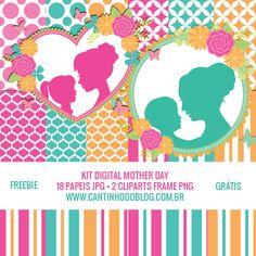 KIT DIGITAL MOTHER DAY GRÁTIS PARA BAIXAR - Cantinho do blog