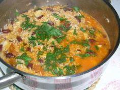 Arroz de feijão e bacalhau, foto 1