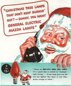 Rad vintage Christmas ads.