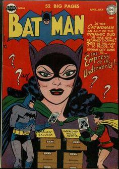 Batman 65 - Catwoman - Ally - Dynamic Duo - Gotham City - Crime