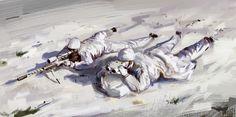 Darek Zabrocki White on white #1  http://polishdigitalart.com/darek-zabrocki www.darekzabrocki.com https://www.artstation.com/artwork/xwYz4