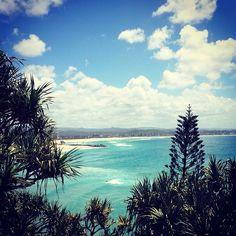Snapper Rocks Beach in Coolangatta, QLD
