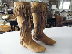 Native American boots.