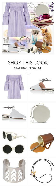 """""""Coffee break"""" by lamipaz ❤ liked on Polyvore featuring W118 by Walter Baker, Barneys New York, Diane Von Furstenberg, Yves Saint Laurent, Pilot, Marni and coffebreak"""