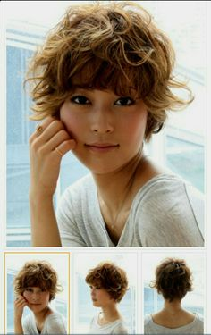 17 Short Layered Bob Haircuts Trending in 2019 - Style My Hairs Short Wavy Pixie, Curly Pixie Haircuts, Short Shag Hairstyles, Curly Hair Updo, Curly Hair Cuts, Short Hair Cuts, Curly Hair Styles, Short Hair With Layers, Great Hair