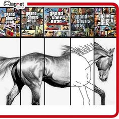 Video Game Memes, Gaming Memes, Grand Theft Auto, Gta, Kawaii Anime, Moose Art, Funny Pictures, Humor, Animals