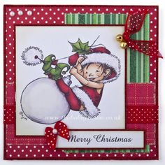 Mo Manning - Christmas Elves (slight seconds) The Hobby House Die-Cut Card Toppers Christmas @ The Hobby House Homemade Christmas Cards, Christmas Elf, Handmade Christmas, Homemade Cards, Card Making Inspiration, Making Ideas, Penny Black Cards, Mo Manning, Hobby House