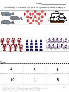 OCEANS: ALL CREATURES ABOVE AND BELOW is an 18 sheet set of cut and paste activities. It gives the students the opportunity to practice their cutting and pasting skills.